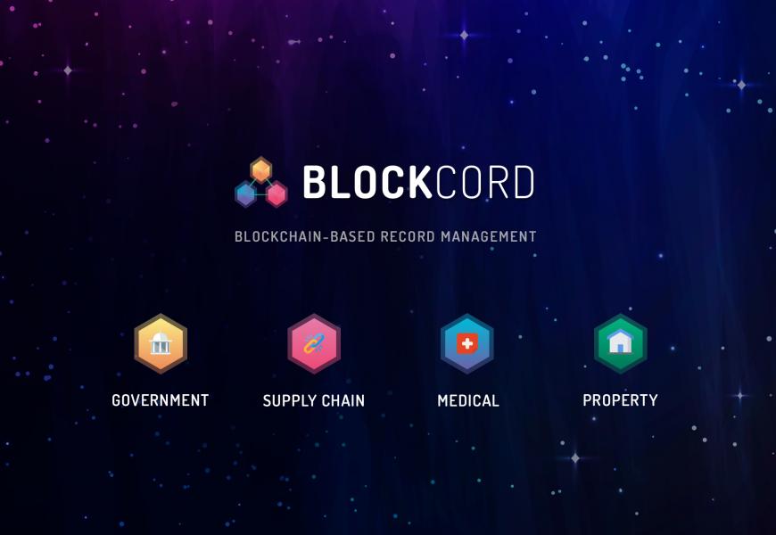 Blockcord - Blockchain Based Record Management